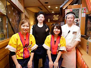 海鮮居酒屋 京都 花の舞 中央口駅前店c0898のアルバイト情報