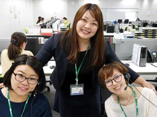 りらいあコミュニケーションズ株式会社(三井物産グループ)のアルバイト情報