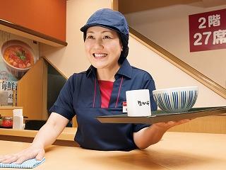 なか卯 豊水すすきの店のアルバイト情報