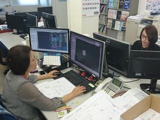 三和シヤッター工業株式会社 岡山設計課のアルバイト情報