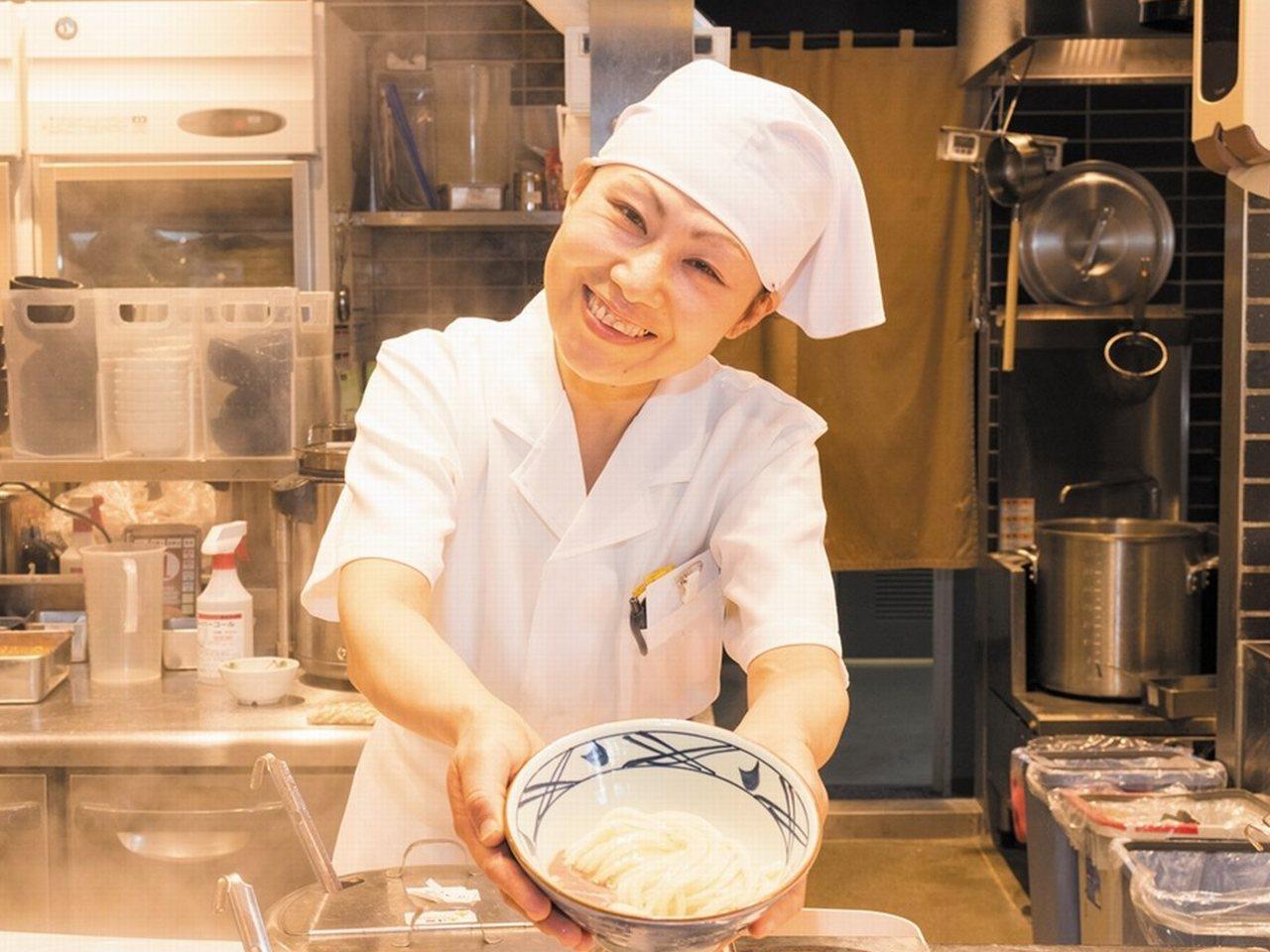 丸亀製麺 名古屋スパイラルタワーズ店 [店舗 No.110833]のアルバイト情報