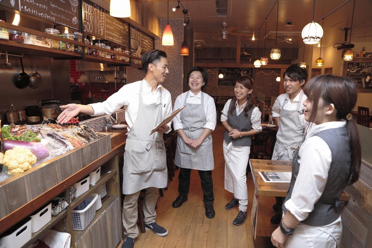 炭火イタリアン Azzurro520+caffe 西葛西店 のアルバイト情報
