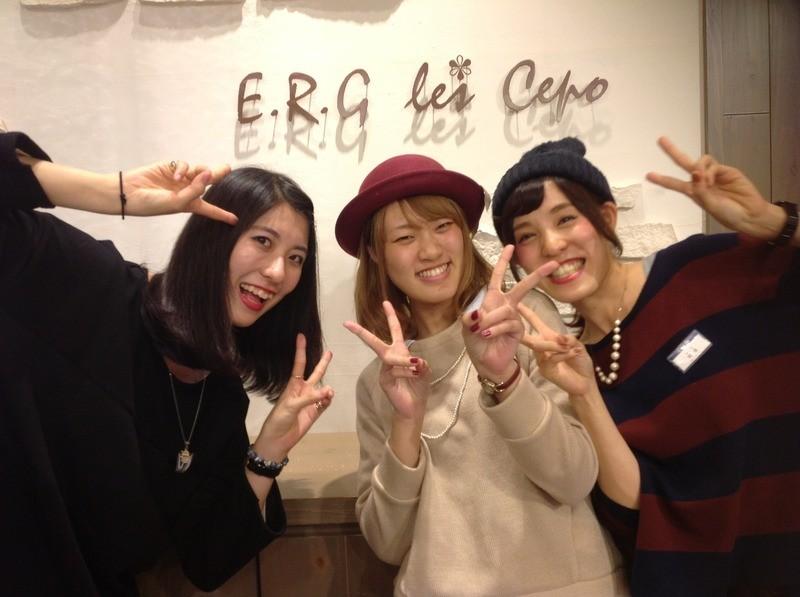 E.R.G les cepo(イーアールジーセポ) AQ'A広島センター街店 のアルバイト情報