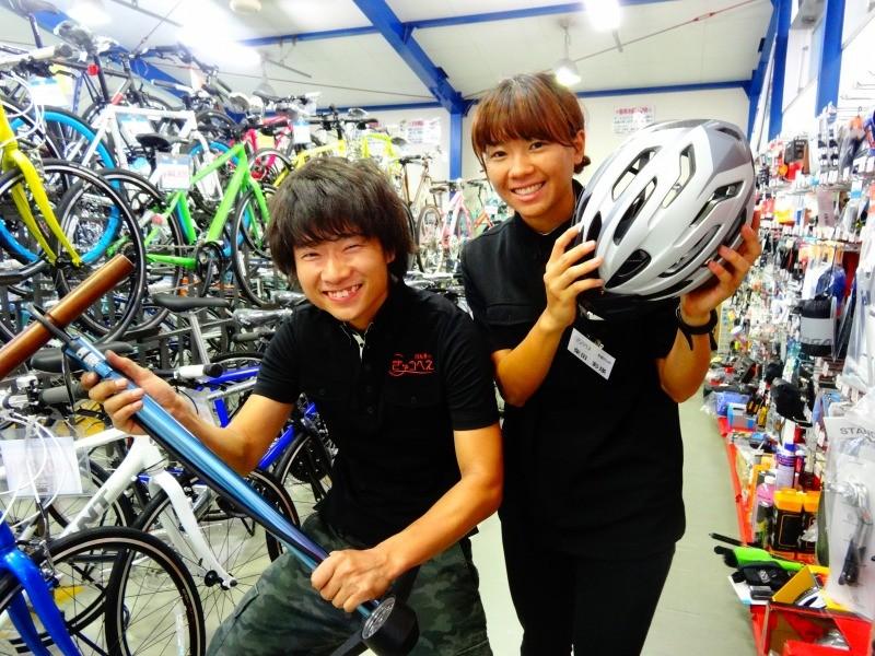 自転車のきゅうべえ 修学院店 のアルバイト情報