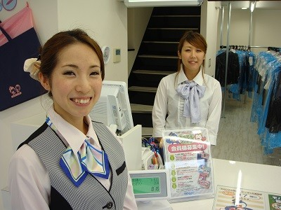 ノムラクリーニング 地下鉄御堂筋線梅田駅 ekimo梅田店 受付スタッフのアルバイト情報