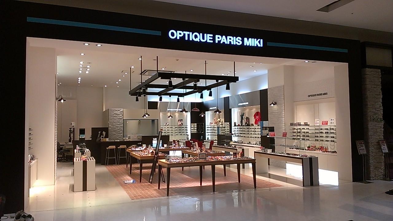 OPTIQUE PARIS MIKI ゆめタウン博多店 のアルバイト情報