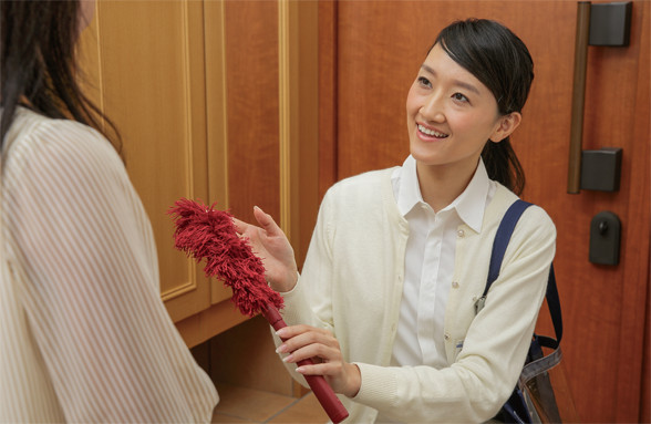 ダスキン篠田支店ホームサービス のアルバイト情報