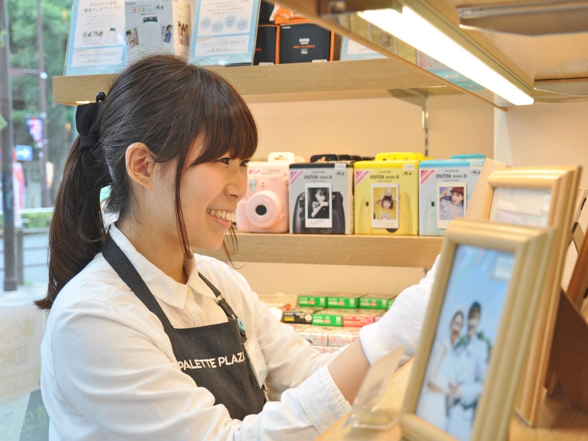 パレットプラザ モラージュ菖蒲店 のアルバイト情報