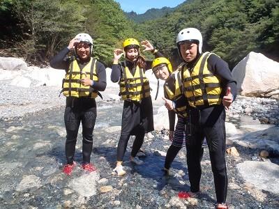 アウトドアクラブNuts(ナッツ) 滋賀 神崎川 シャワークライミング&キャニオニング のアルバイト情報