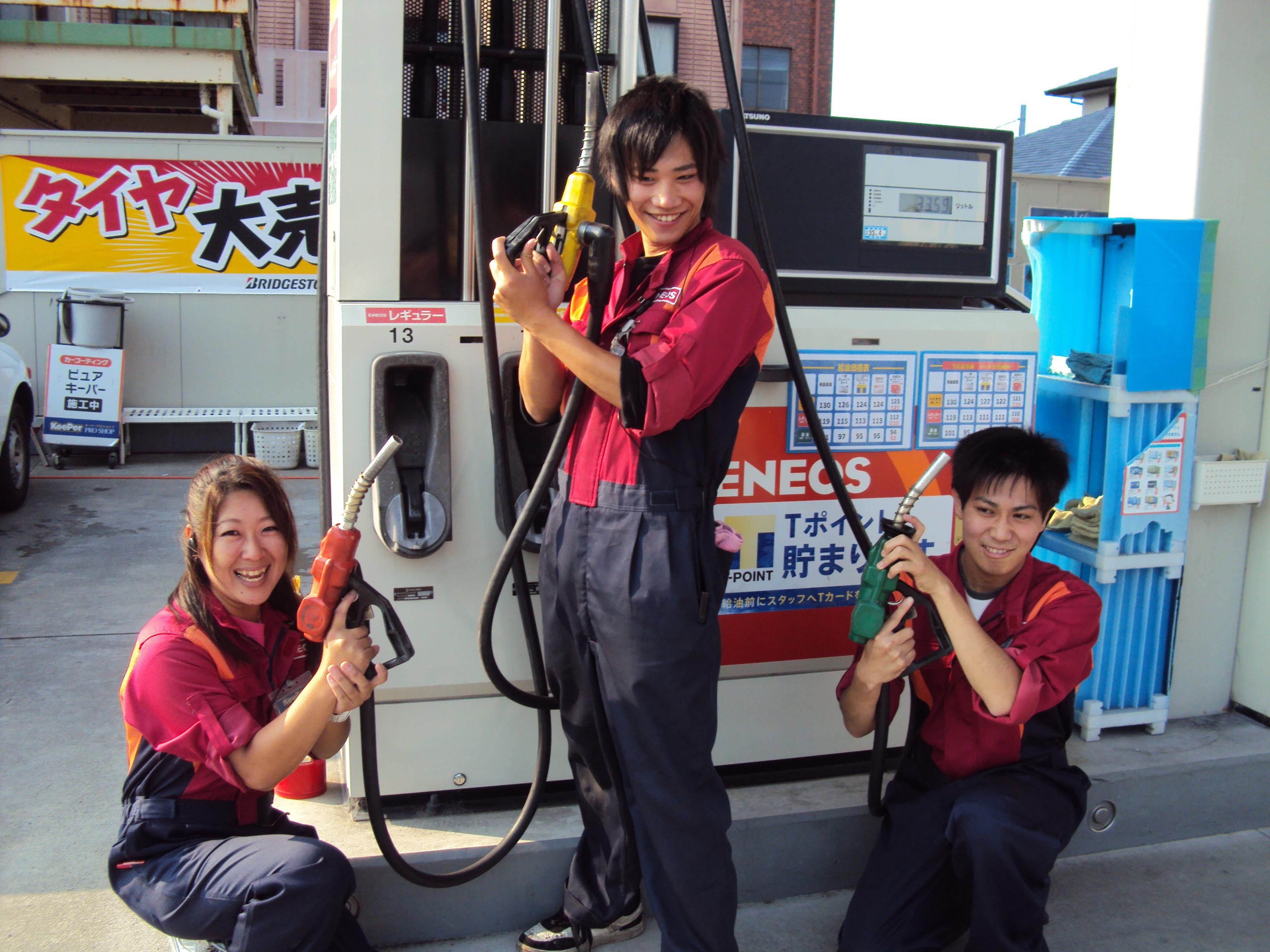 エネオス Dr.Drive セルフ三島伏見店(伊伝株式会社) のアルバイト情報