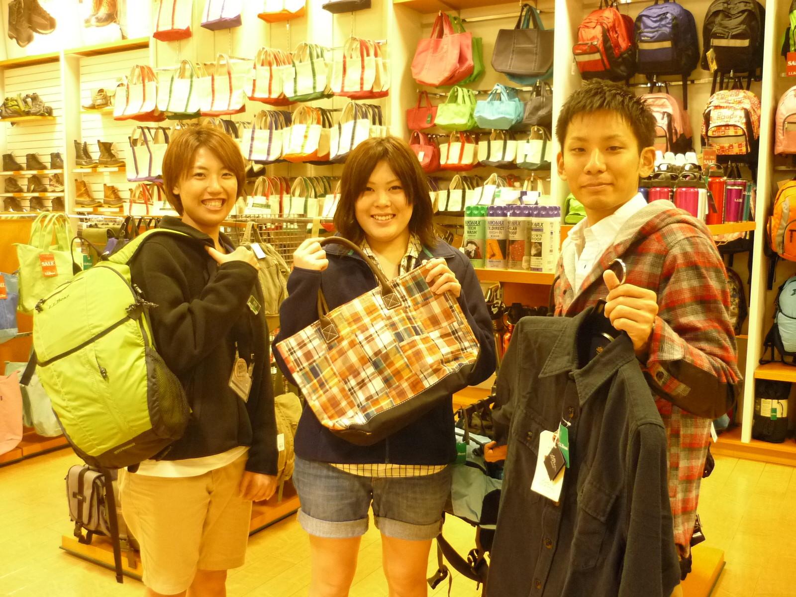 L.L.Bean(エル・エル・ビーン) 神戸店 のアルバイト情報