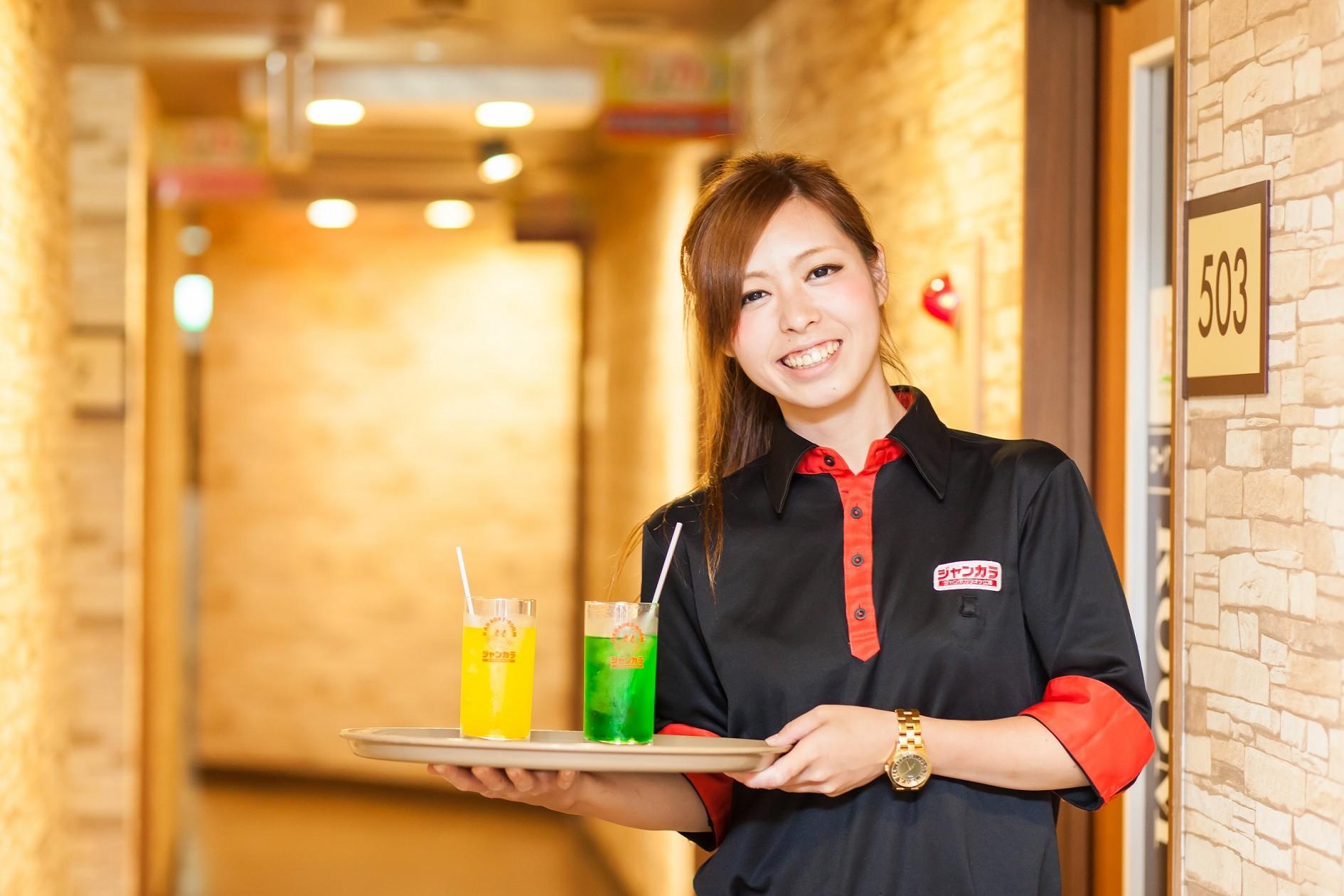 ジャンカラ 女子カラ千日前店 のアルバイト情報