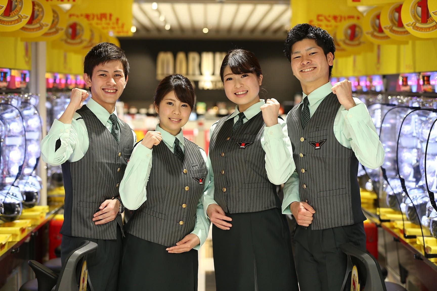 マルハン 萩原東店[2108]のアルバイト情報