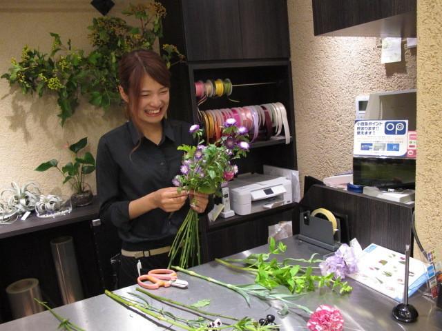 小田急フローリスト 大和プロス店のアルバイト情報