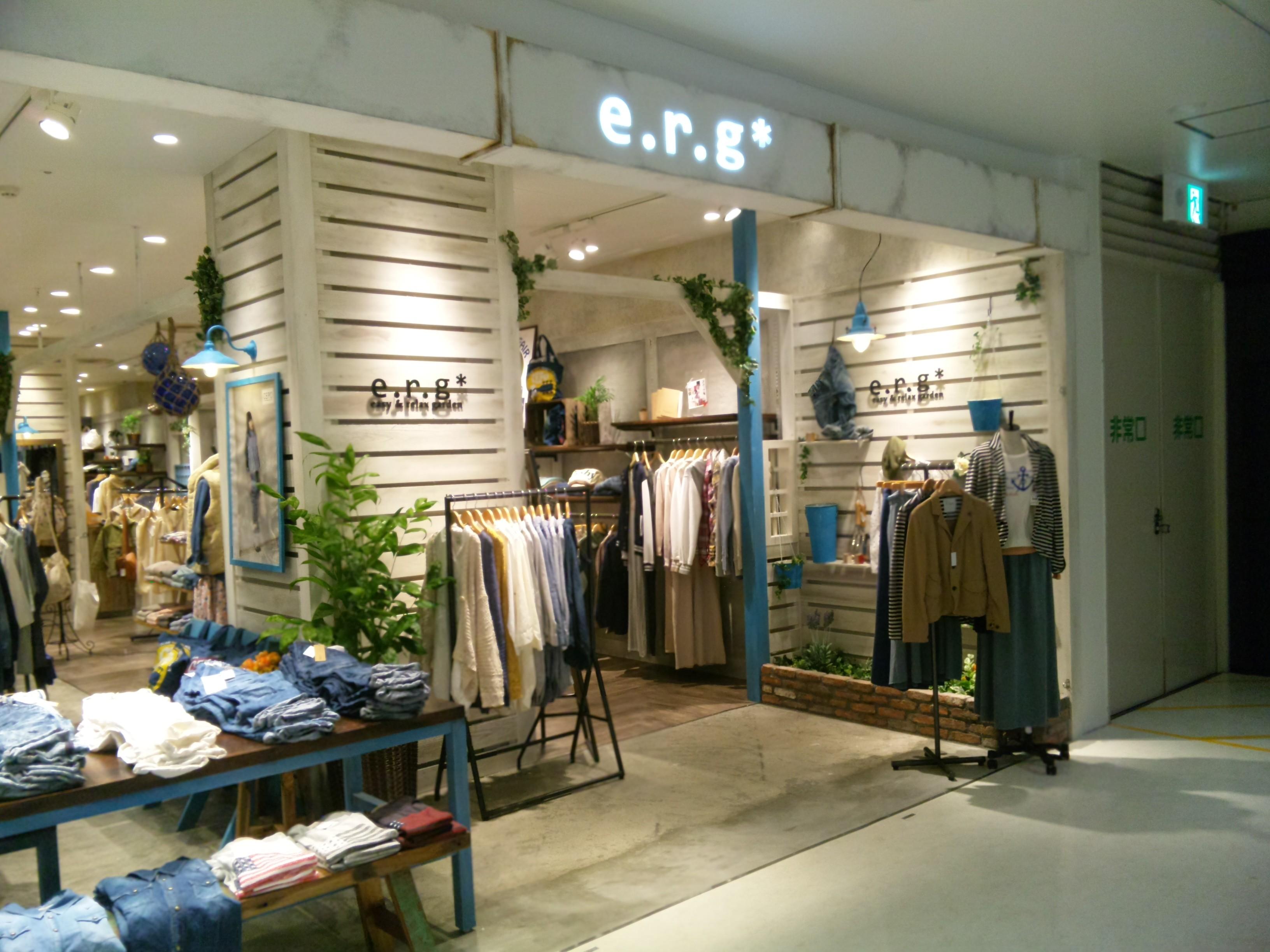 e.r.g(イーアールジー) 京都ファミリー店 のアルバイト情報