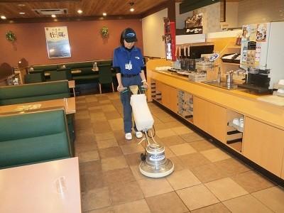 ガスト 栗林公園店 深夜巡回清掃スタッフのアルバイト情報