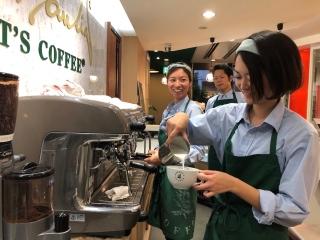ROBERT'S COFFEE(ロバーツコーヒー) 福岡大名店のアルバイト情報