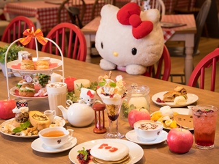 Cafe de Miki with Hello Kitty ダイバーシティ店のアルバイト情報